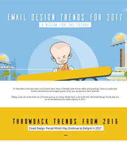 Email Design Trends for 2017 Infographic